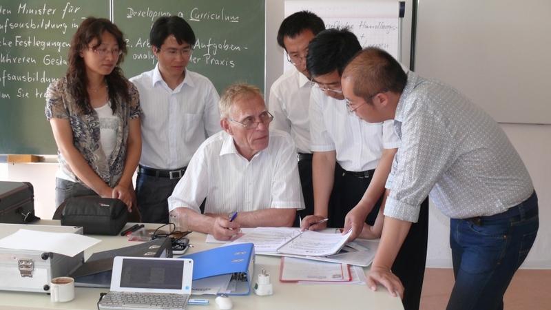 Experten mit Teilnehmern aus China
